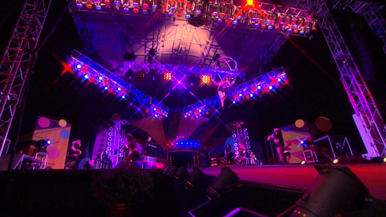 Kinetix Perform at Busch Gardens Summer Nights