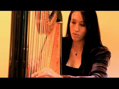 Liath Hollins - Wonderful Tonight (Eric Clapton) Harp Cover