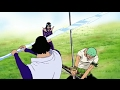 One Piece - Luffy Zoro And Sanji Try To Protect Robin From Aokiji !! ENG SUB
