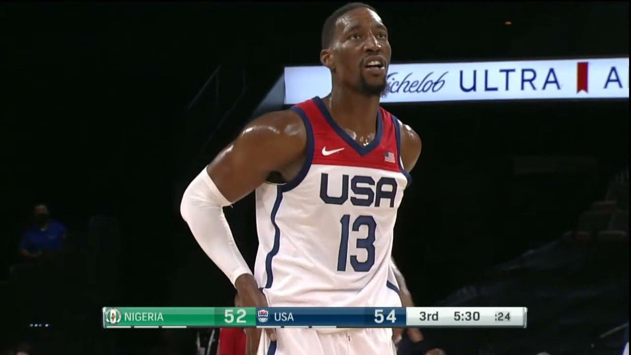 Download Team USA vs Team Nigeria   July 10   2021 Olympics