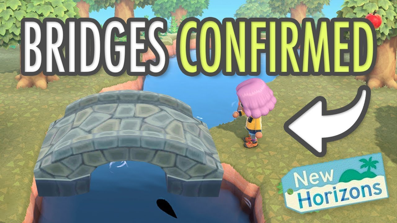 Animal Crossing New Horizons Bridges Confirmed New Screenshots