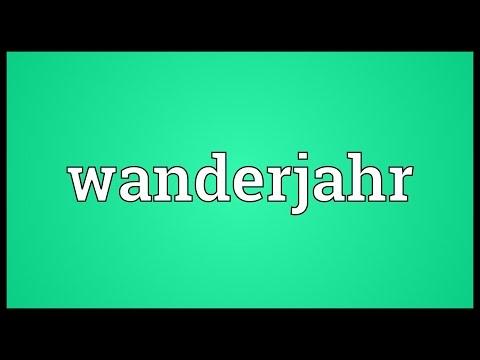 Header of Wanderjahr