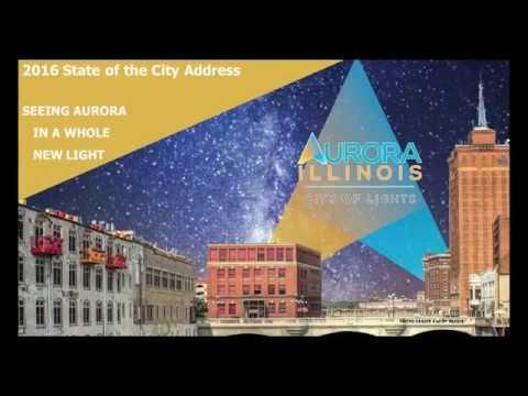 Mayor Thomas J. Weisner State of the City Address 2016