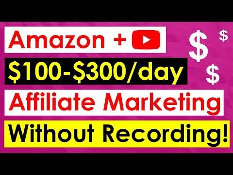 Amazon Affiliate Marketing On Youtube - WITHOUT MAKING VIDEOS!! thumbnail