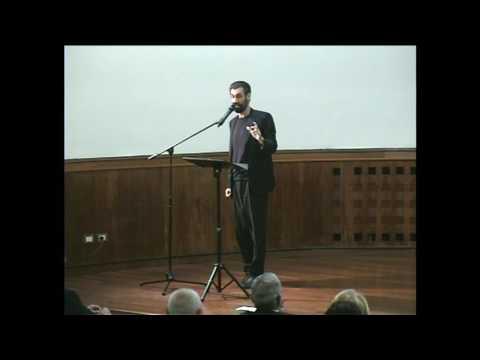 """Fabrizio Gifuni, """"Gadda e il teatro, un atto sacrale di conoscenza"""", Accademia Nazionale dei Lincei"""