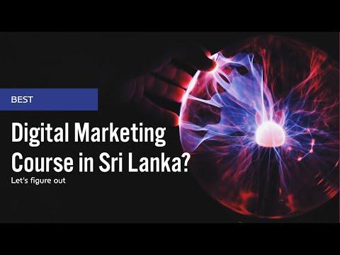 Sri Lanka's Best Digital Marketing Course?