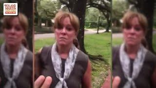 WTH?!? Crazy White Lady Tried To Stop A 1-Year-Old & Her Parents' Photo Shoot In A Park