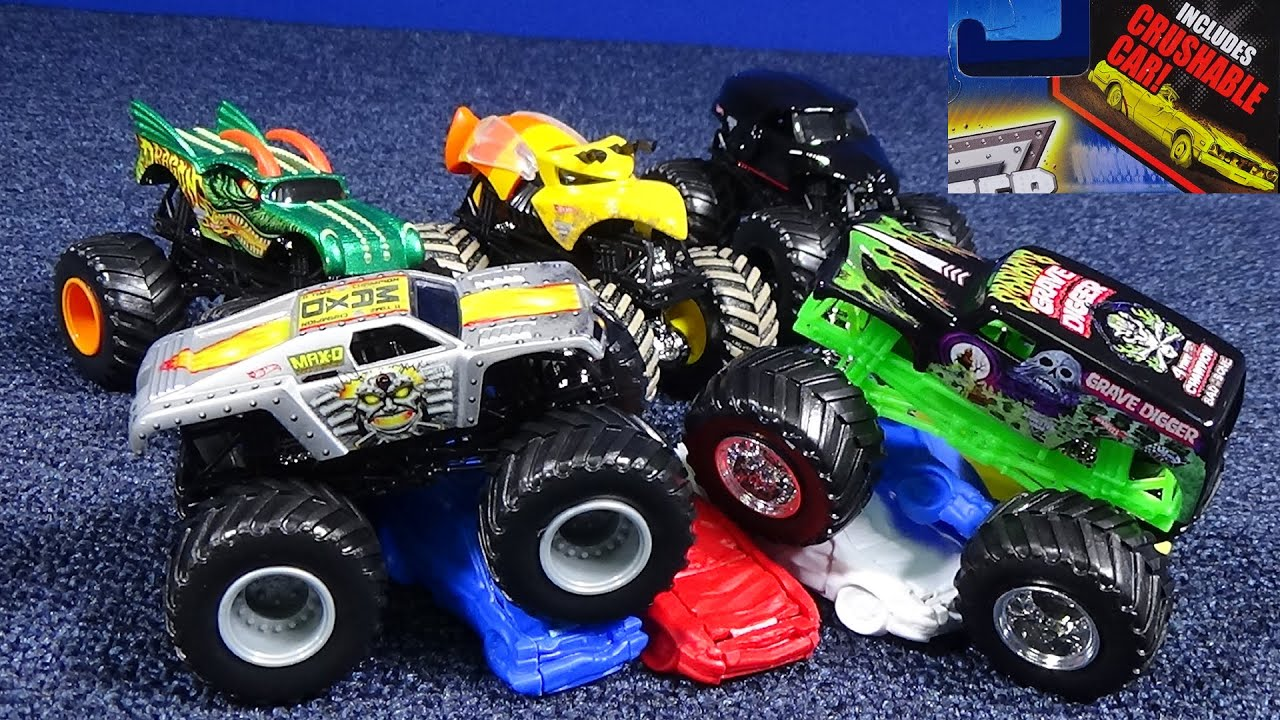 Monster Jam Crushable Cars Youtube
