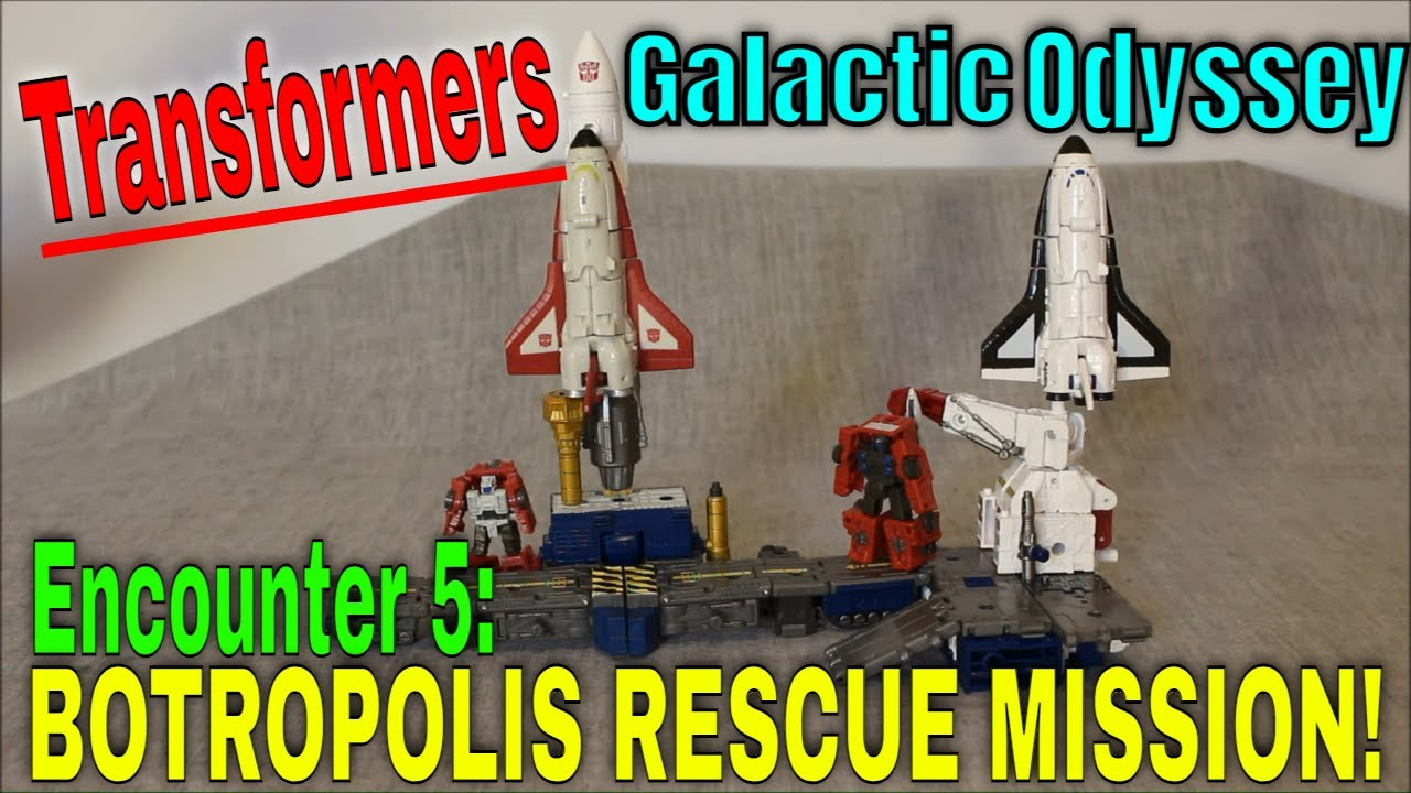 End of an Odyssey: Botropolis Rescue Mission by GotBot