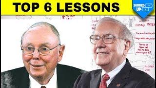 Warren Buffet ke Top 6 Rules | Charlie Munger & Warren buffet Lessons | Summedup