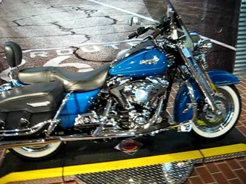 2001 Harley-Davidson Road King Clic Real Teal FLHRCI - YouTube