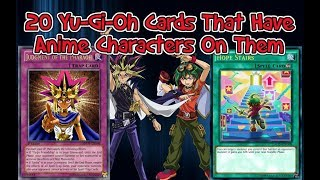 Yu-Gi-Oh: 20 Times Anime Characters Appeared on Yugioh Cards