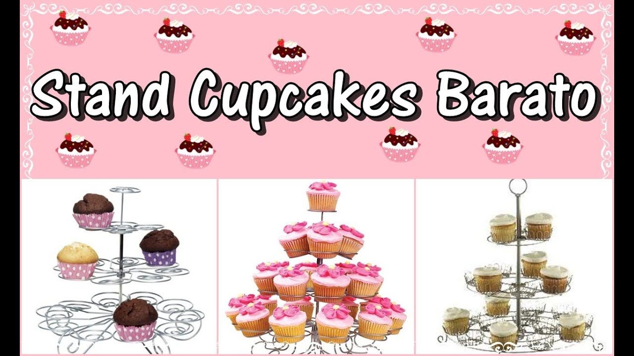 Stand para Cupcakes Barato - YouTube