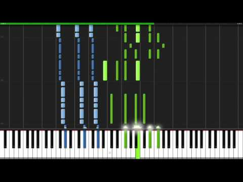 Hopes And Dreams & Save The World – Undertale [Piano Tutorial] (Synthesia)