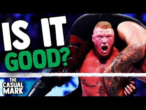 IS BROCK LESNAR'S CURRENT WWE RUN GOOD!? - The Casual Mark