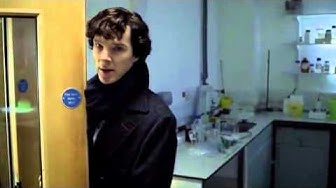Sherlock BBC   The address is 221B Baker Street