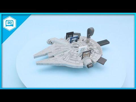 Memory Falcon #3DPrinting #Timelpase #adafruit