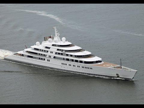 Azzam World  largest motor yacht 605$ millions  94,000 hp