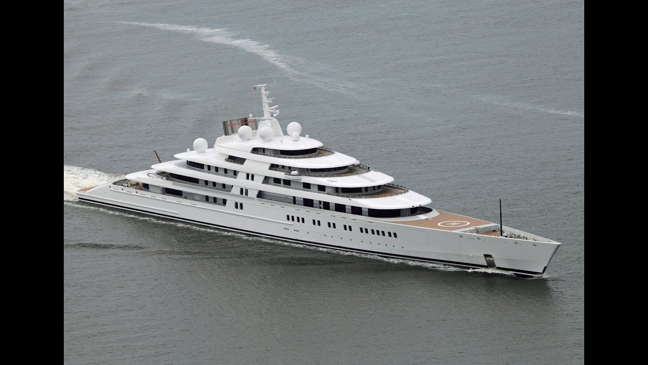 Azzam World Largest Motor Yacht 605 Millions 94 000 Hp