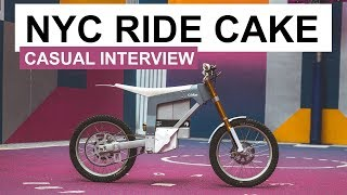 Cake Kalk Electric Dirt Bikes hit New York City / Interview with Kalle Ytterborn