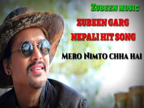 ZUBEEN Garg's Nepali Song.¦¦Mero Nimto chha hai