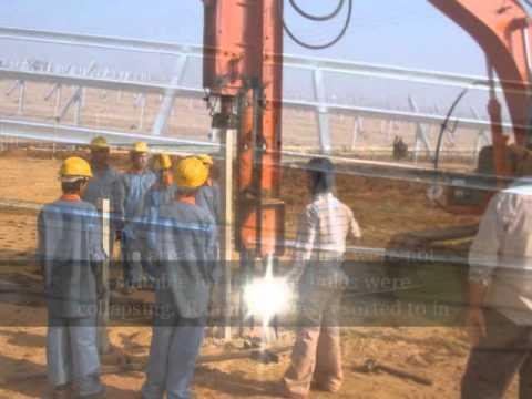 Solar Power Plant construction-EIRL