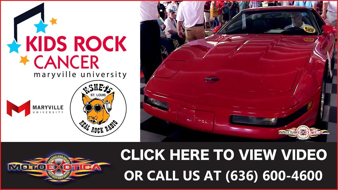 Kids Rock Cancer - JMark Classic Car Auctions - K-SHE 65 ...