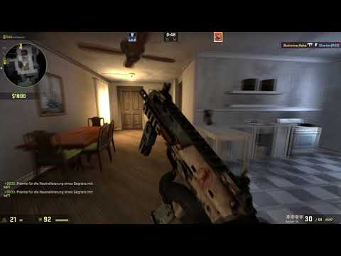 Ez Ace with MP7 kek - CS:GO Inferno