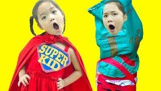 Siêu Anh Hùng nhí Giúp Đỡ Chị Gái - Trang Vlog