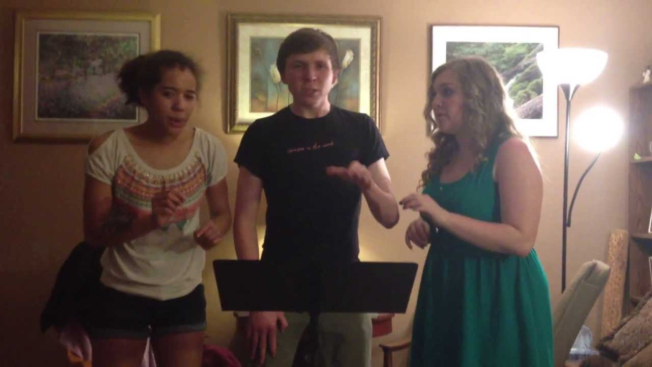 Telephone Trio Cover Cover Rehearsal 2012!