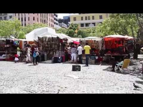 Cape Town Day 3 Vlog   Green Market Square (1080p HD)