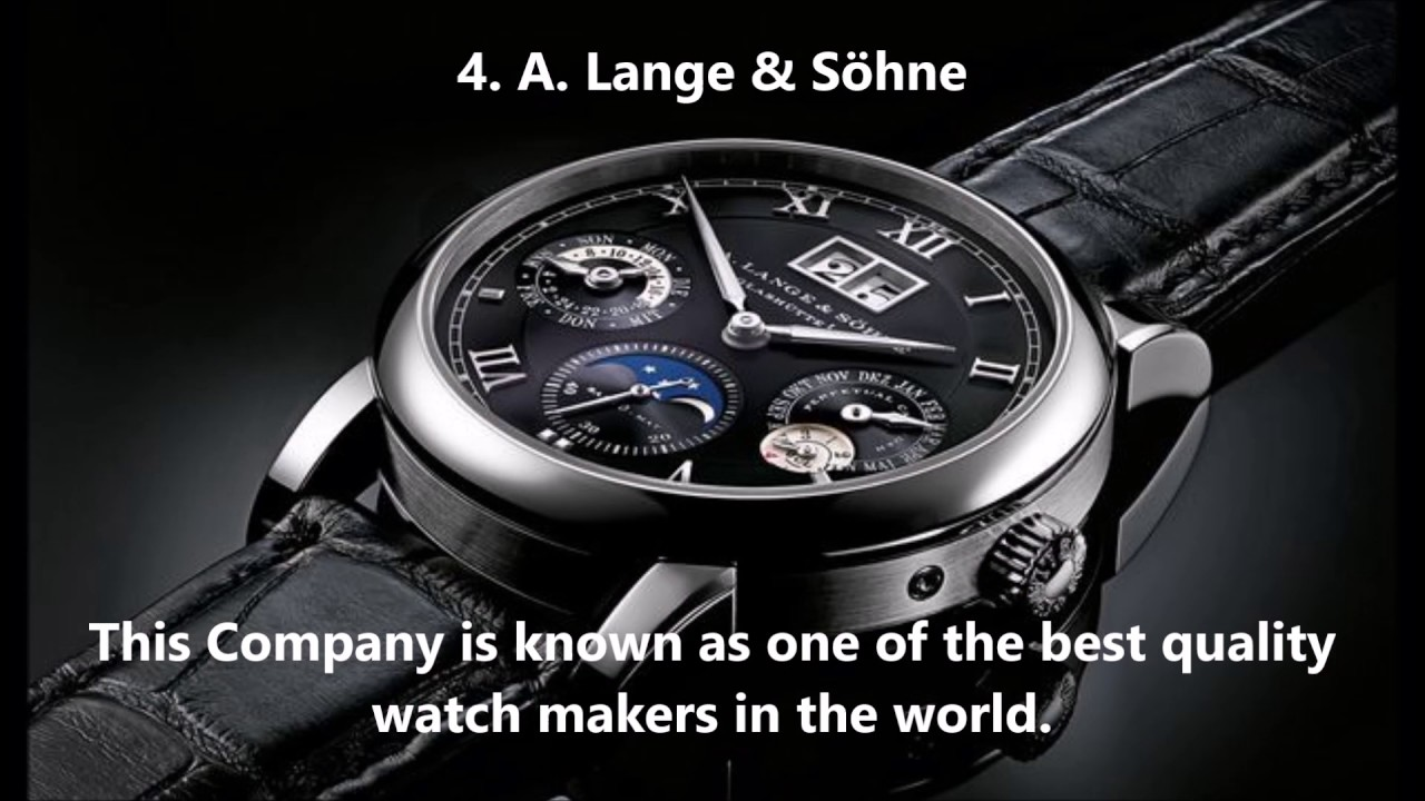 Top 10 most popular fashion brands in the world - Top 10 Most Famous Popular Watch Brands In The World