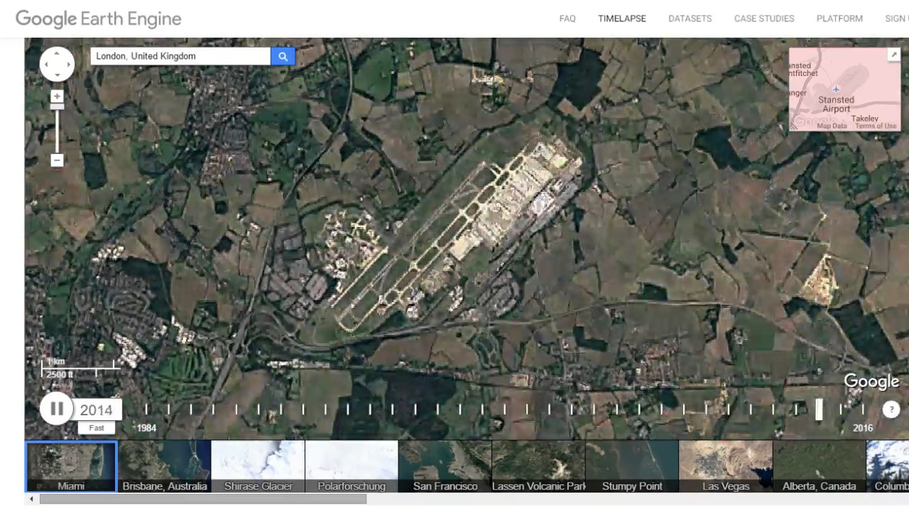 google timelapse london stansted airport essex uk