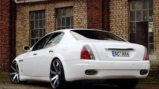 [ 200 Abonnenten Special ] Brutal loud Maserati Quattroporte w/Custom exhaust Ride | Revs
