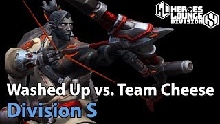 ► Heroes of the Storm Pro Play: Washed Up vs. Team Cheese - Division S Qualifier