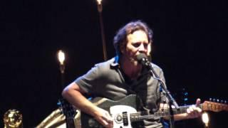 Eddie Vedder - PARTING WAYS @ Ohana Festival 08-27-16