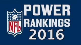 2016 NFL Power Rankings| COMPLETE SEASON PREDICTIONS