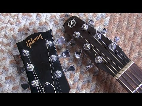 Seagull vs Gibson   ...  Acoustic guitar shootout.........RESULTS