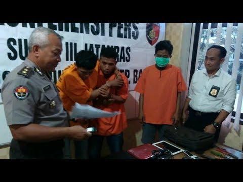 Pencuri Asal Batam Dilumpuhkan Jatanras