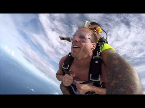 Skydive Aruba, 11-2-2015, Brett's Video