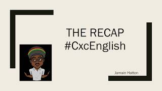 Review of CXC English B poems (2018-2023)