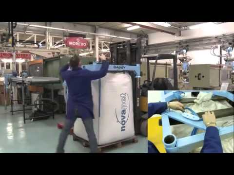 Moretto S p A   Svuota Big bag BAGGY  Big bag Unloader on YouTube