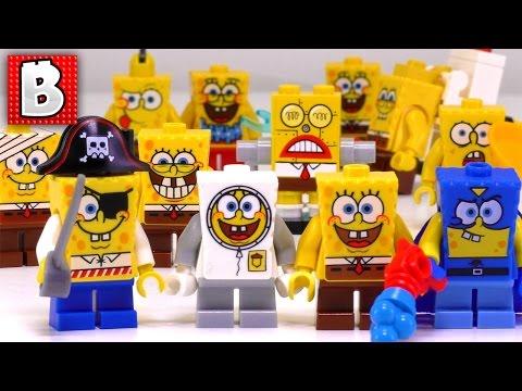 Lego Chum Bucket Lego 4981 Spongebob Squarepants Review Brickqueen