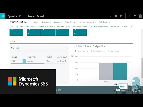 Microsoft Dynamics 365 Business Central Videos | Turnkey