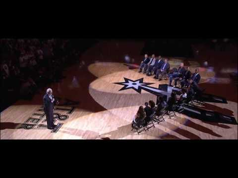 Gregg Popovich Speech | Tim Duncan Jersey Retirement Ceremony | December 18, 2016