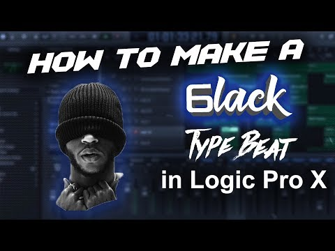 How to make a 6lack type beat in Logic Pro X  | Beat Maker Tutorial | Make Beats in Logic Pro X