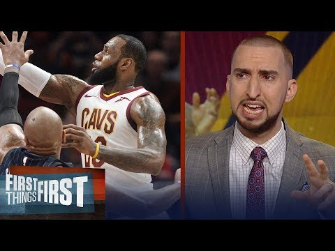 Nick and Cris react to Lebron's comments about being in 'strugglesville' | FIRST THINGS FIRST