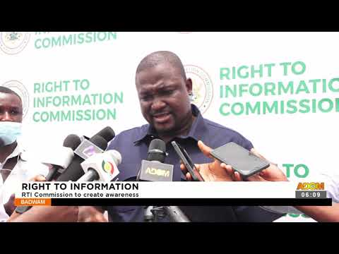 Right To Information: RTI Commission to create awareness- Badwam News on Adom TV (21-9-21)