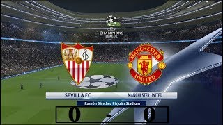 Sevilla vs Manchester United 0-0 - All Goals & Extended Highlights - Champions League 21-02-2018
