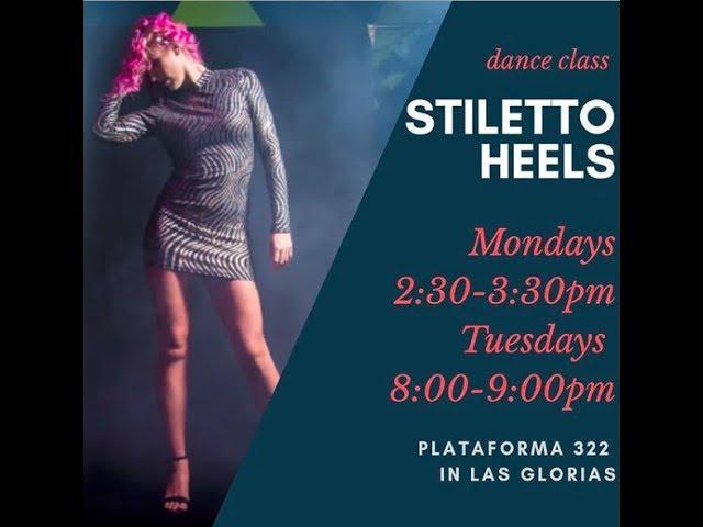 Stiletto Heels class with Hannah Brady - BUTTONS